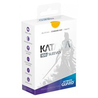 Bustine Standard Ultimate Guard Katana 100 (GIALLO)