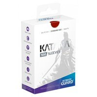 Bustine Standard Ultimate Guard Katana 100 (ROSSO)