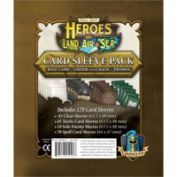 Heroes of Land, Air & Sea: Card Sleeve Pack