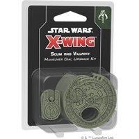 Star Wars X-Wing 2e: Maneuver Dial Upgrade Kit - Feccia e Malvagità