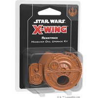 Star Wars X-Wing 2E: Maneuver Dial Upgrade Kit - Resistenza