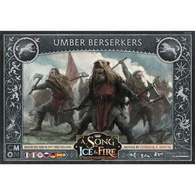 Copertina di A Song of Ice and Fire: Berserker Umber
