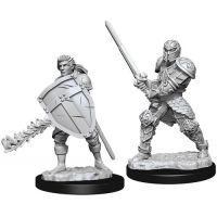 D&D: Nolzur's Marvelous Miniatures - Human Male Fighter