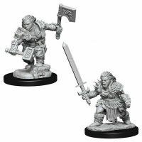 Pathfinder: Deep Cuts Miniatures - Dwarf Female Barbarian