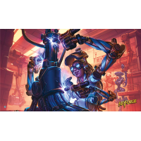 KeyForge: Playmat - In Laboratorio
