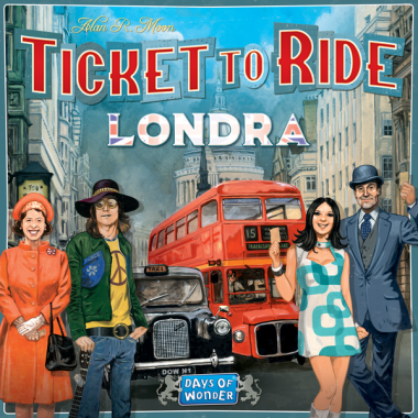 Copertina di Ticket to Ride - Londra