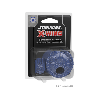 Copertina di Star Wars X-Wing 2E: Maneuver Dial Upgrade Kit - Alleanza Separatista