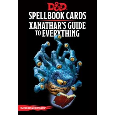 Copertina di Dungeons & Dragons Edizione Inglese: Xanathar's Guide to Everything Cards