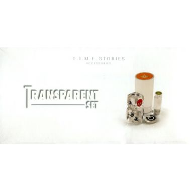 Copertina di TIME Stories: Transparent Set