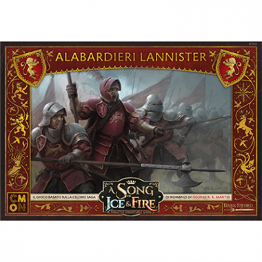 Copertina di A Song of Ice and Fire: Alabardieri Lannister