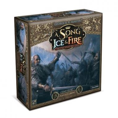 Copertina di A Song of Ice and Fire: Starter Set - Popolo Libero
