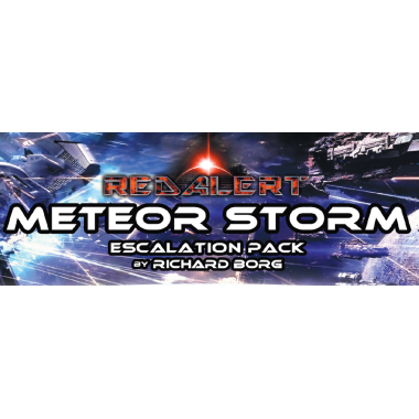 Copertina di Red Alert - Space Fleet Warfare: Metero Storm