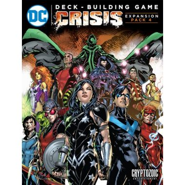 Copertina di DC Comics - Deck-Building Game: Crisis 4