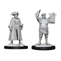 Pathfinder: Deep Cuts Miniatures - Mayor & Town Crier