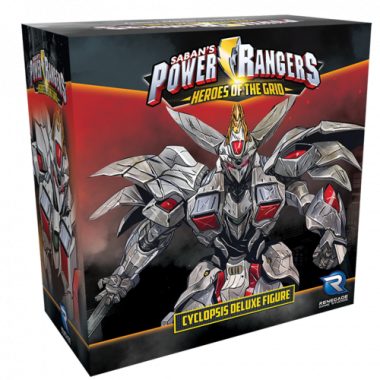 Copertina di Power Rangers - Heroes of the Grid: Cyclopsis Deluxe Figure