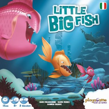 Copertina di Little Big Fish