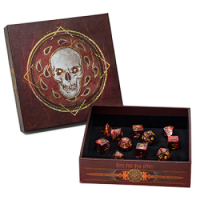 Dungeons & Dragons Edizione Inglese: Descent into Avernus - Dice Set