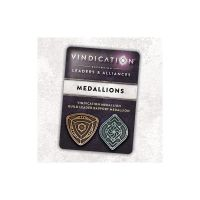 Vindication: Leaders & Alliances - Metal Medallion