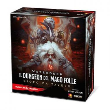 Copertina di Dungeons & Dragons: Il Dungeon del Mago Folle