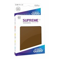 Bustine Japanese Ultimate Guard Supreme UX 60 (MARRONE)