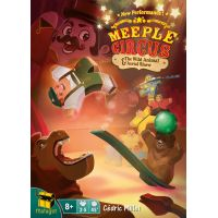 Meeple Circus Edizione Inglese: The Wild Animal & Aerial Show