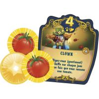 Meeple Circus Edizione Inglese: Tomatoes & Awards