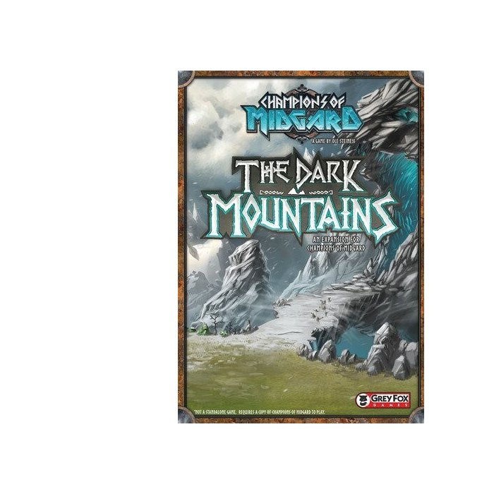 Copertina di Champions of Midgard: The Dark Mountains