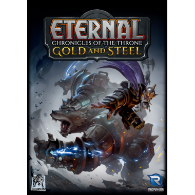 Copertina di Eternal - Chronicles of the Throne: Gold and Steel