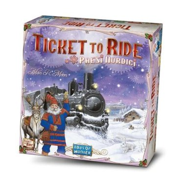 Copertina di Ticket to Ride - Paesi Nordici