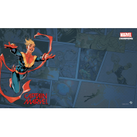 Marvel Champions - LCG: Playmat - Captain Marvel