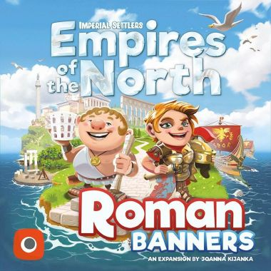 Copertina di Imperial Settlers - Empires of the North: Roman Banners