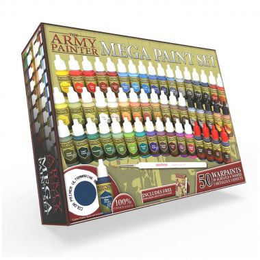 Copertina di Set Colori: The Army Painter Mega Paint Set