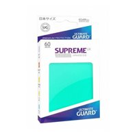 Bustine Japanese Ultimate Guard Supreme UX 60 (TURCHESE)