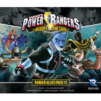 Power Rangers - Heroes of the Grid: Ranger Allies Pack 1 Danneggiato (M1)