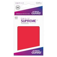 Bustine Japanese Ultimate Guard Supreme UX 60 (ROSSO)