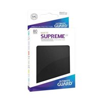 Bustine Standard Ultimate Guard Supreme UX 80 (NERO)