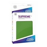 Bustine Standard Ultimate Guard Supreme UX 80 (VERDE)