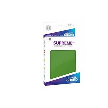 Copertina di Bustine Standard Ultimate Guard Supreme UX 80 (VERDE)