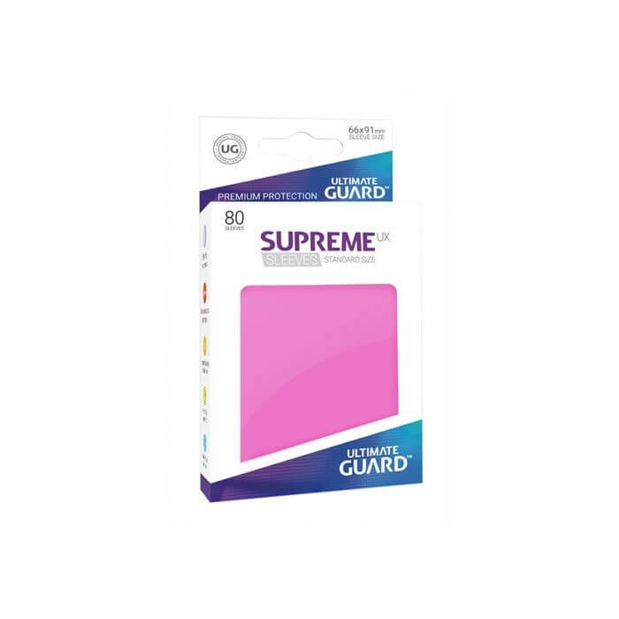 Copertina di Bustine Standard Ultimate Guard Supreme UX 80 (ROSA)