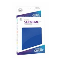 Bustine Standard Ultimate Guard Supreme UX 80 (BLU)