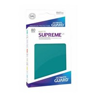 Bustine Standard Ultimate Guard Supreme UX 80 (BLU PETROLIO)