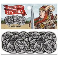 Raiders of Scythia Edizione Inglese: Metal Coins