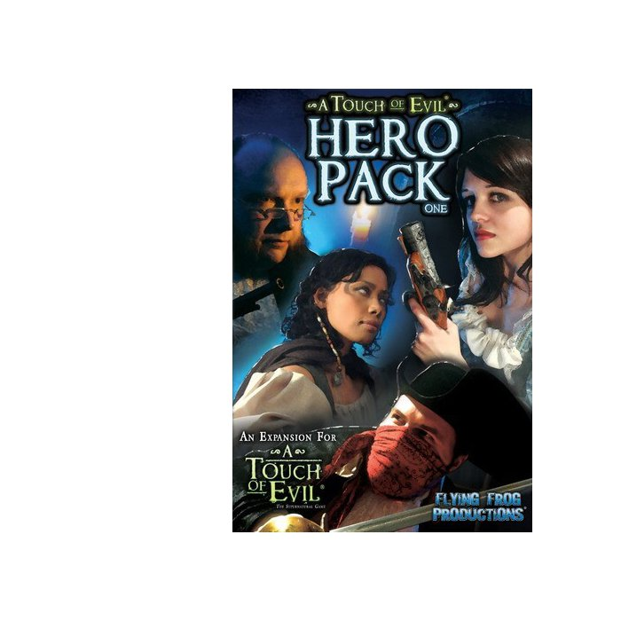 Copertina di A Touch of Evil: Hero Pack 1
