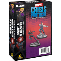 Marvel - Crisis Protocol: Hawkeye & Black Widow