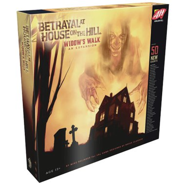 Copertina di Betrayal at House on the Hill: Widow's Walk