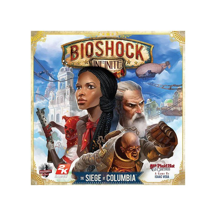 Copertina di Bioshock Infinite: The Siege of Columbia