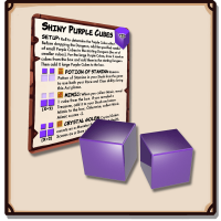 Dungeon Drop Edizione Inglese: Mysterious Shiny Purple Cubes
