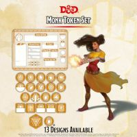 Dungeons & Dragons: Token Set - Monk