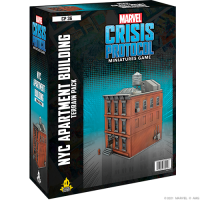 Marvel - Crisis Protocol: NYC Apartment Building Terrain Pack