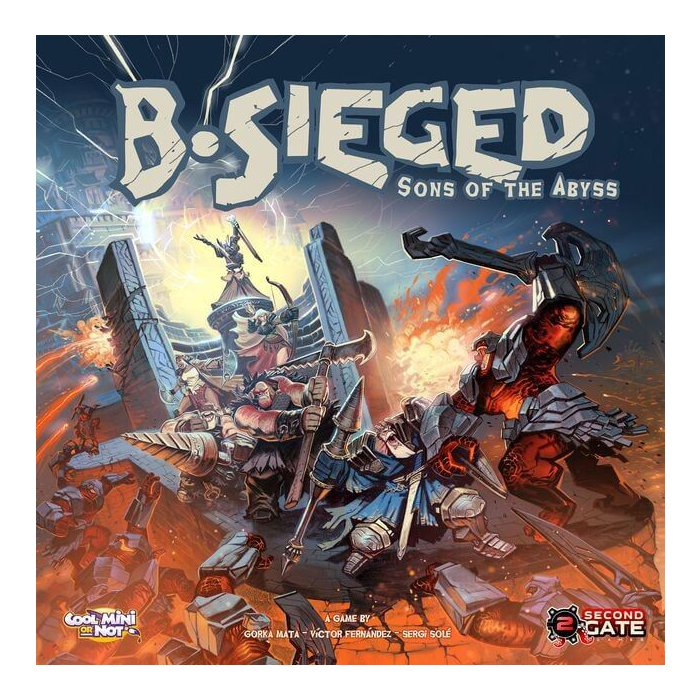 Copertina di B-Sieged: Sons of the Abyss